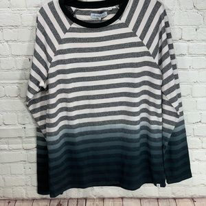 NWT Sovereign Code Ombre Striped Long Sleeve